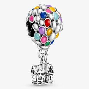 📿Pandora  Disney Pixar Up House & Balloons Charm